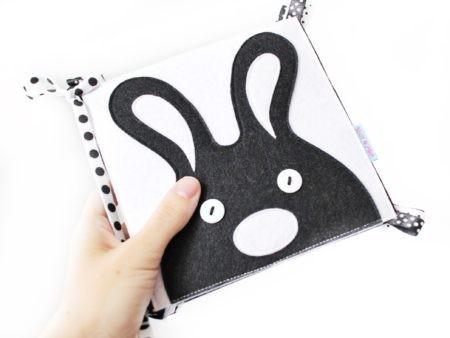 черно-белые контрастные игрушки для новорожденных выкройки из фетра