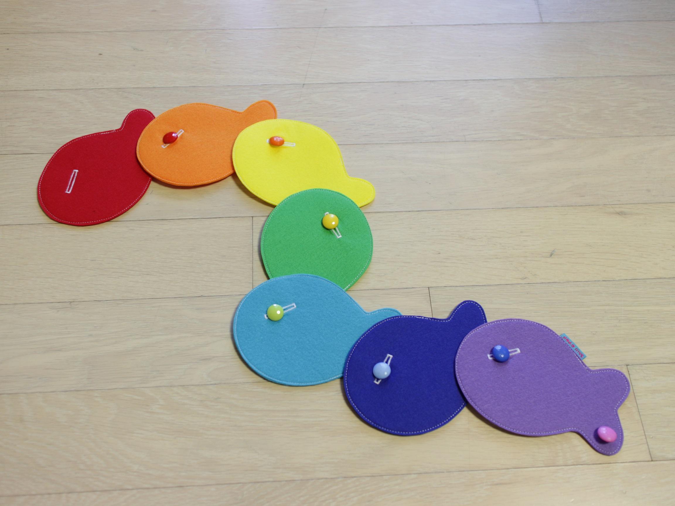 бесплатные выкройки игрушки из фетра застежки рыбки