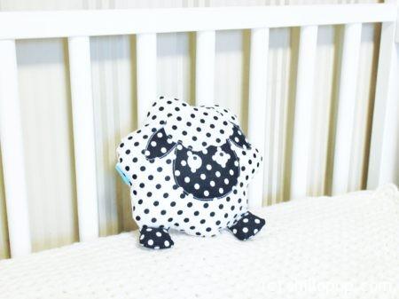 овечка игрушка подушка выкройка