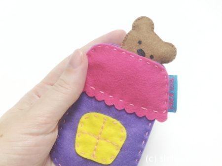 мастер-класс игрушка в кармашек из фетра выкройки
